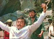 <p>Salim-Javed and the Sippys give India a taste of spaghetti westerns and frontier justice, packing dacoits, horses, train chases, gunfights and some of the most iconic moments in Indian cinema history in a film that was panned widely by critics, but rose to be India's biggest blockbuster regardless.</p>
