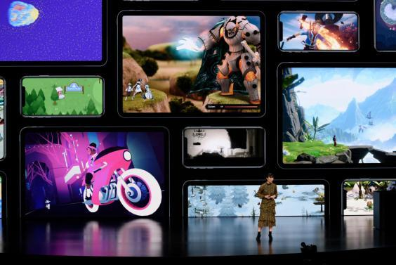 Apple also announced the launch of it's new video streaming service, unveiled a premium subscription tier to its News app, and announced it would release its own credit card, called Apple Card (Getty Images)
