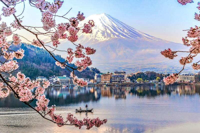 Kawaguchio Lake with Fuji Mountain, Japan. <i>(Photo: Getty)</i>