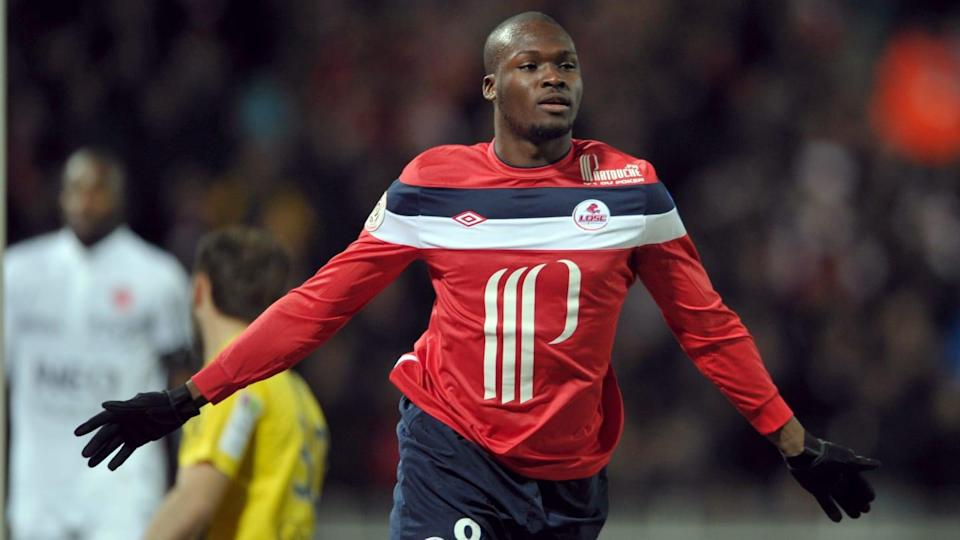Lille's Senegalese forward Moussa Sow ce | PHILIPPE HUGUEN/Getty Images