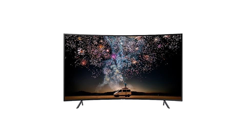 Samsung 49 inch, Curved Ultra HD, 4K Certified HDR Smart TV