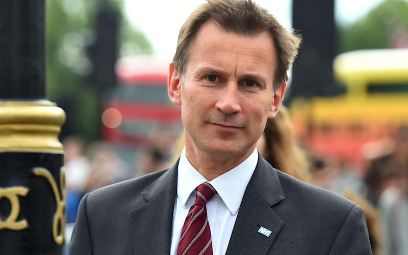 Health Secretary Jeremy Hunt  - Credit: PA