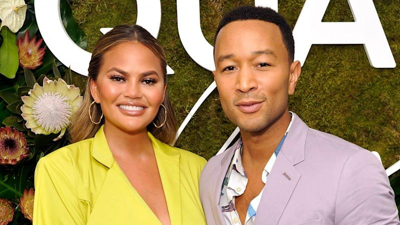 Chrissy Teigen Is Totally Unfazed By John Legend's Sexiness as He Shows Off His Dance Moves -- Watch!