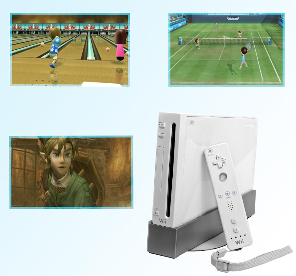 BEST -- Wii (2006) – While there were lots of mediocre games in the Wii launch lineup, pack-in title Wii Sports more than made up for them. The game-changing compilation alone turned Nintendo's motion-controlled Wii into an overnight must-have. Core gamers were also sated thanks to the critically-acclaimed The Legend of Zelda: Twilight Princess, which was first released on the Wii despite initial plans to debut on the Gamecube.