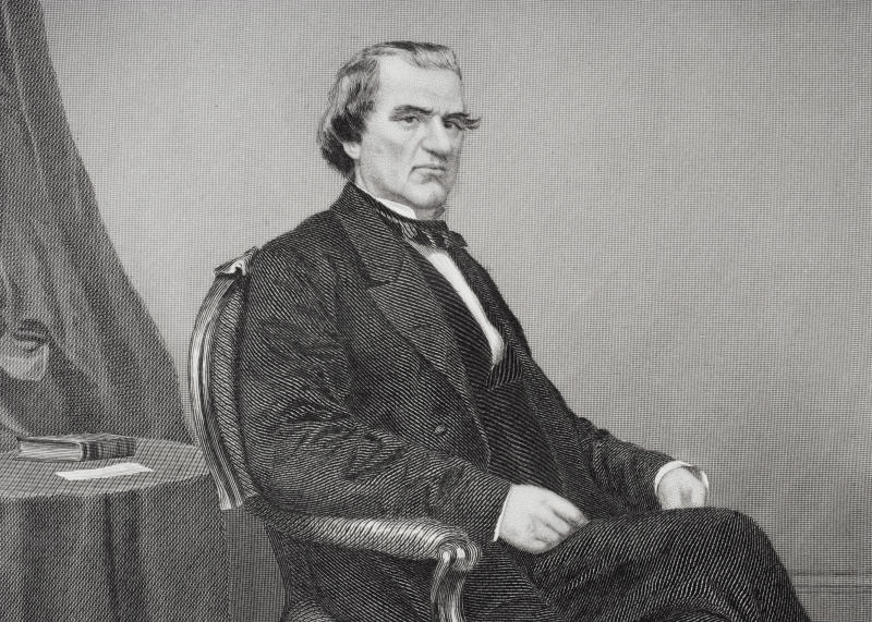 Andrew Johnson, 17th president of the United States 1865-69.(Photo: Universal History Archive/Getty Images)