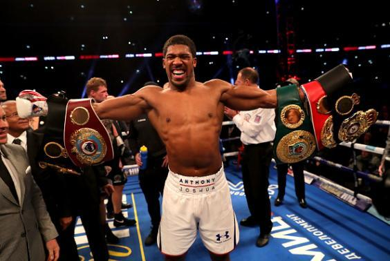 Anthony Joshua hopes to face the winner of Fury vs Wilder in April