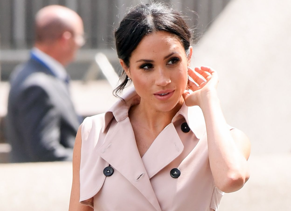 Meghan Markle is reported to be considering seeing friends in the US – but is it that easy when you're a royal? [Photo: Rex]
