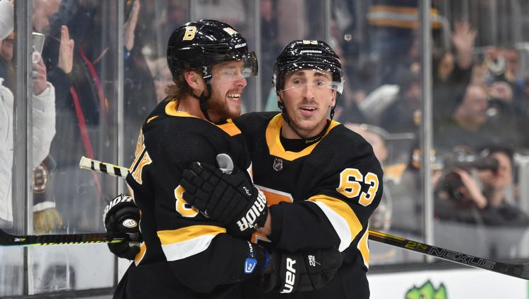 Brad Marchand's evolution to playmaker is complete: 'They're the shooters and I am the passer'