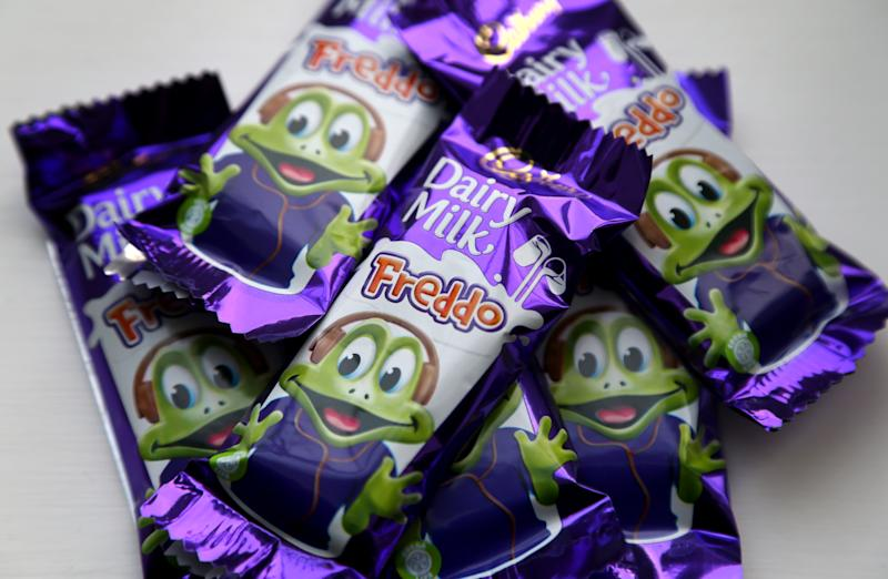 Freddo chocolate bars (Photo by Gareth Fuller/PA Images via Getty Images)