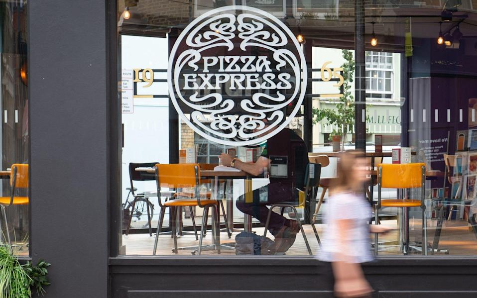Pizza Express in London