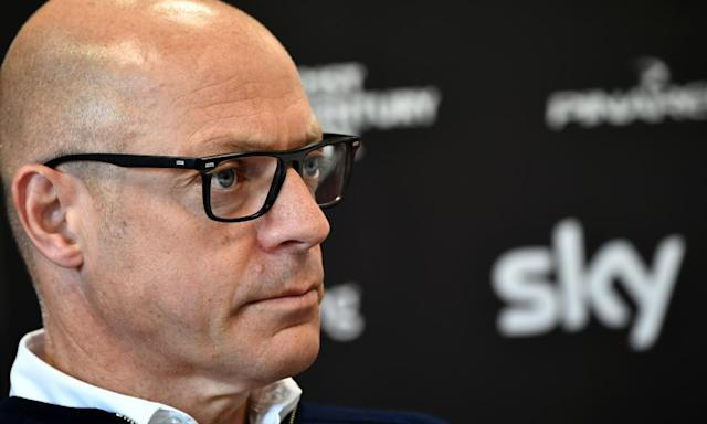 "<span class=""element-image__caption"">Sir Dave Brailsford is coming under increasing pressure over his role as head of Team Sky.</span> <span class=""element-image__credit"">Photograph: Jeff Pachoud/AFP/Getty Images</span>"