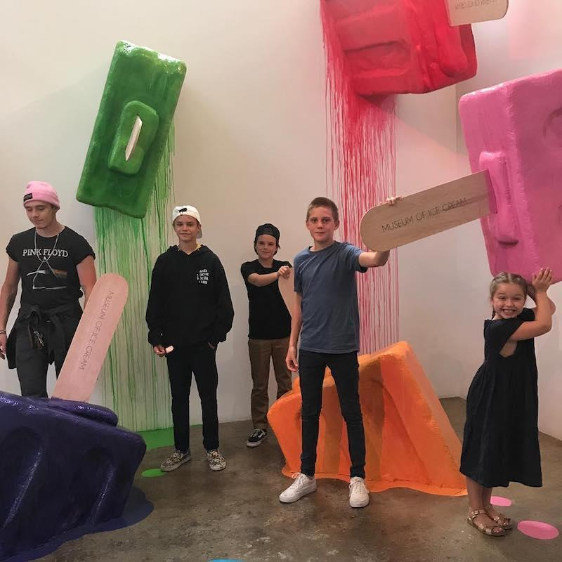 "<p>When we grow up, can we be a Beckham kid? David and Victoria's kids Brooklyn, Romeo, Cruz, and Harper — and a cousin — are enjoying summer in L.A. and that, of course, includes a trip to the Museum of Ice Cream. Yum! (Photo: <a href=""https://www.instagram.com/p/BX3aNvpn_R0/?hl=en&taken-by=cruzbeckham"" rel=""nofollow noopener"" target=""_blank"" data-ylk=""slk:Cruz Beckham via Instagram"" class=""link rapid-noclick-resp"">Cruz Beckham via Instagram</a>) </p>"