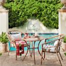 <p>Create the outdoor space of your dreams with the free-spirited <span>Britanna Patio Bistro Set</span> ($450).</p>