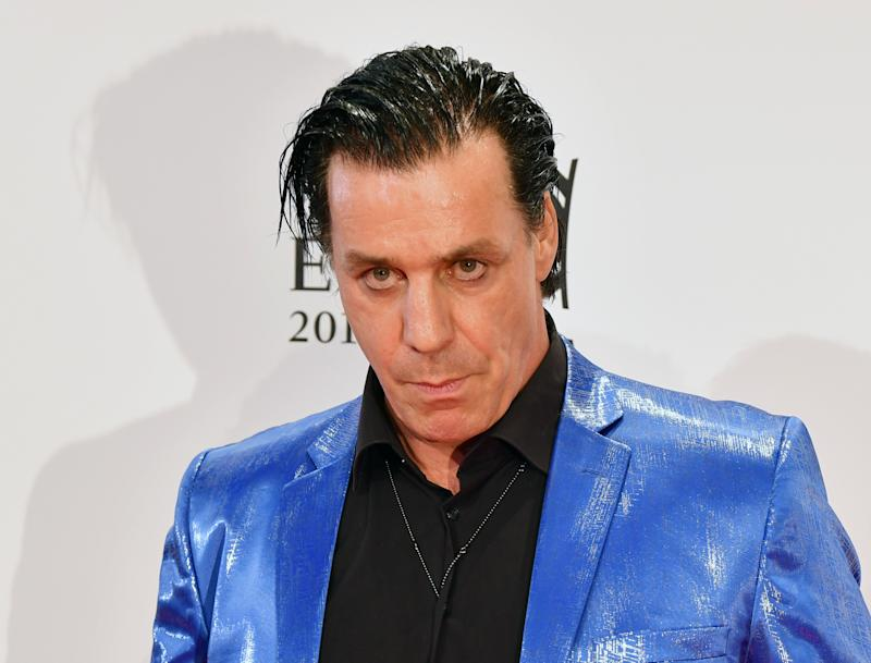 Till Lindemann (Photo by Jens Kalaene/picture alliance via Getty Images)
