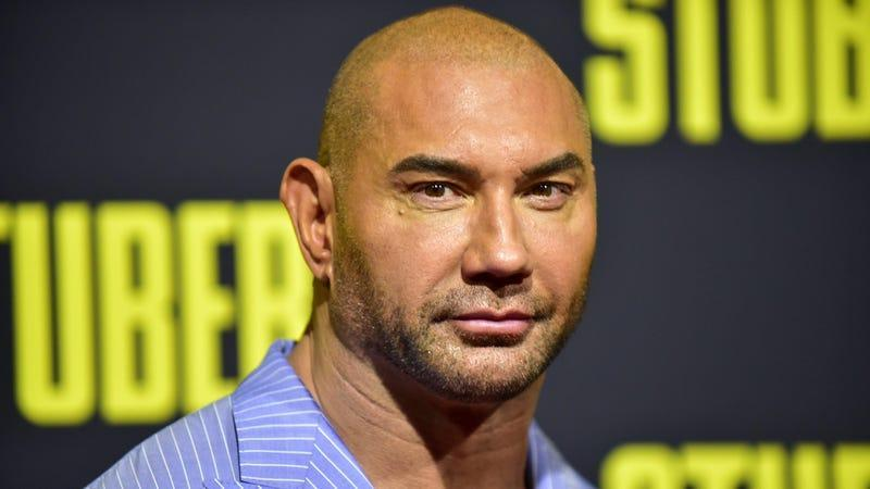 Dave Bautista, not to be confused with Hemingway