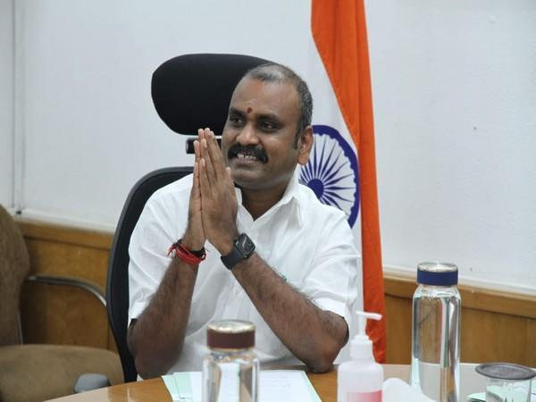 Union Minister of State for Information and Broadcasting L Murugan (File photo)