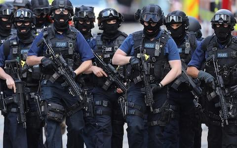 The UK is facing an unprecedented terror threat - Credit: Getty Images