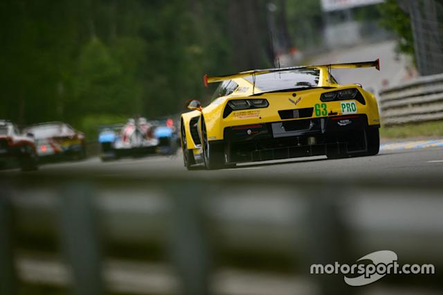 "2018: #63 Corvette Racing Chevrolet Corvette C7.R: Jan Magnussen, Antonio Garcia, Mike Rockenfeller <span class=""copyright"">Marc Fleury</span>"