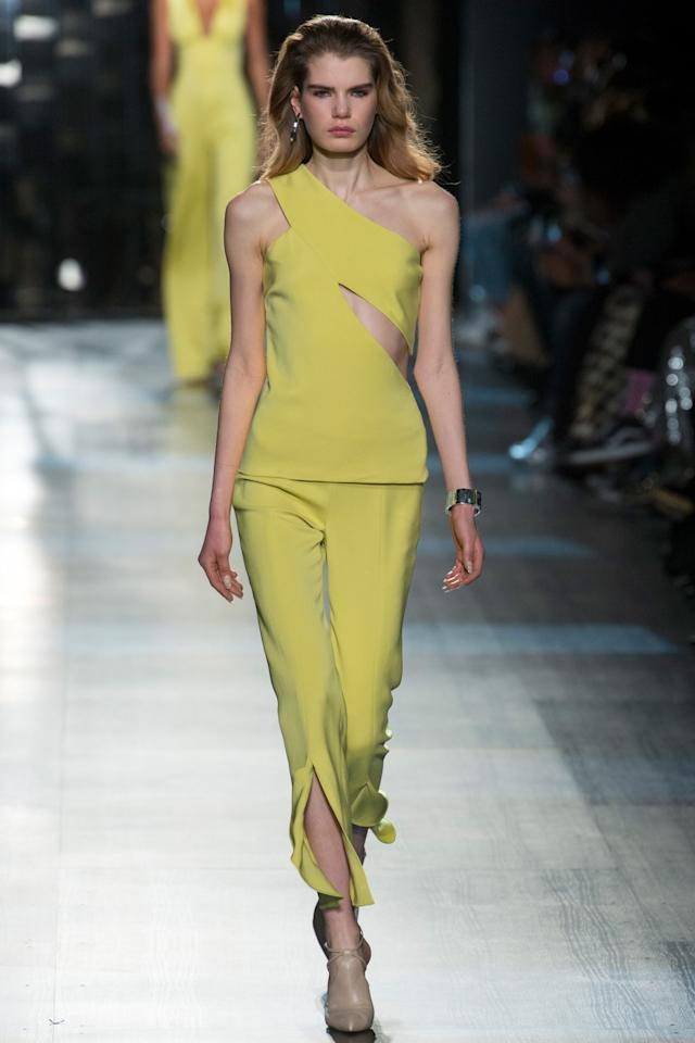 <p>Cushnie et Ochs Fall Winter 2017 (Photo: Getty Images) </p>