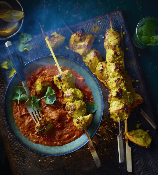 "<p>This is similar to butter chicken but a little more spicy. For a vegetarian option, swap the chicken for cauliflower – this will reduce the grilling time, too. </p><p><a class=""body-btn-link"" href=""https://www.redonline.co.uk/food/recipes/a32892410/chicken-makhani-recipe/"" target=""_blank"">FIND THE RECIPE HERE</a></p>"