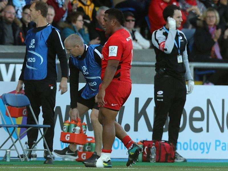 Mako Vunipola has been ruled out for six weeks with injury (Getty)