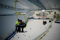 The Sunac Snow Centre indoor ski resort in Chengdu in China's southwestern Sichuan province