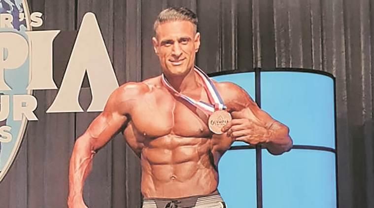 chandigarh, chandigarh news, chandigarh inspector wins bronze medal, America Amateur Olympia 2019, las vegas, indian express