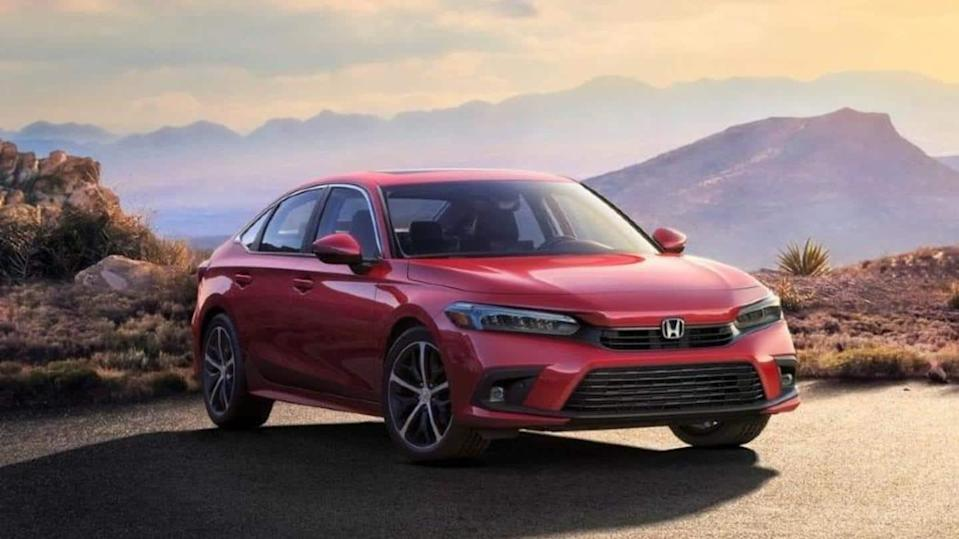 2022 Honda Civic, with a new design and features, revealed