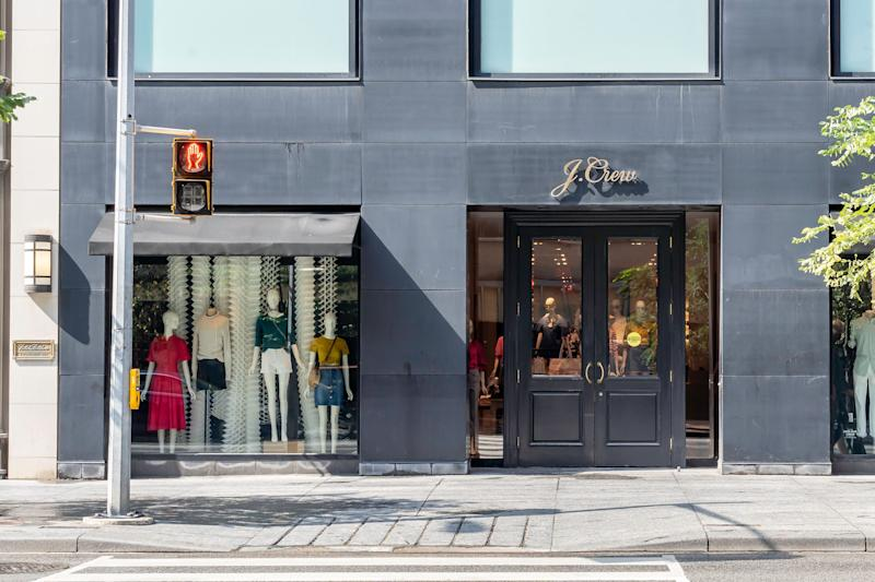 """<a href=""""https://fave.co/33DZ8GS"""" target=""""_blank"""" rel=""""noopener noreferrer"""">J.Crew</a> takes the &ldquo;top deal&rdquo; title this weekend. (Photo: JHVEPhoto via Getty Images)"""
