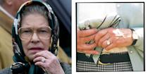 """<p>Princess Elizabeth and Philip were engaged on 9 July, 1947. Lieutenant Philip Mountbatten R.N, as he was first named when he formerly entered the royal family, is believed to have proposed at Balmoral after seeking King George VI's permission.</p><p>The ring features a standout circular diamond set in a case of smaller diamonds on a silver band.</p><p><a class=""""link rapid-noclick-resp"""" href=""""https://go.redirectingat.com?id=127X1599956&url=https%3A%2F%2Fwww.goldsmiths.co.uk%2FJenny-Packham-Oval-Cut-0.85-Carat-Total-Weight-Solitaire-Diamond-Ring-in-Platinum%2Fp%2F37410106%2F&sref=https%3A%2F%2Fwww.elle.com%2Fuk%2Flife-and-culture%2Fwedding%2Fg28785354%2Froyal-family-engagement-rings-meghan-markle-kate-middleton-queen%2F"""" rel=""""nofollow noopener"""" target=""""_blank"""" data-ylk=""""slk:SHOP SIMILAR"""">SHOP SIMILAR </a>Jenny Packham Oval Cut 0.85 Carat Solitaire Diamond Ring in Platinum, Goldsmiths, £5,500</p>"""