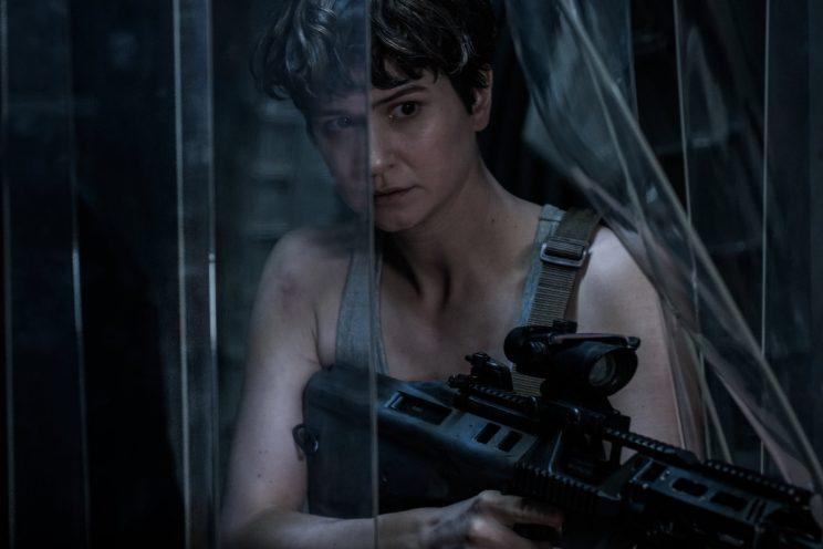 Katherine Waterston in 2017's 'Alien: Covenant' (credit: 20th Century Fox)