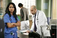 <p>Stanley Tucci appeared in season 14 of the series as Dr. Kevin Moretti, the Chief of Emergency Medicine. The actor arrived at County General in 2007 for a multi-episode arc.</p>