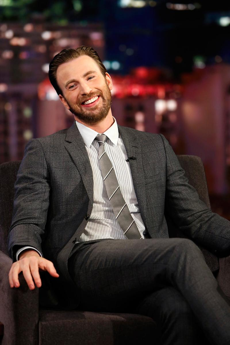 Chris Evans Is an Extremely Cool Ex-Boyfriend