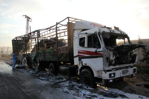 Raids across Syria battlefronts after aid convoy hit