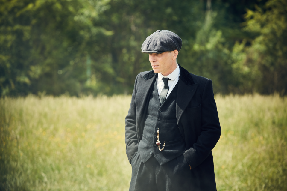 """<p>Centering around a gang family in England right after WWI, <em>Peaky Blinders </em>is not particularly similar to Jamie and Claire's time-traveling love story, except in that it's a British period drama, but it will appeal to those Anglophiles in the <em>Outlander</em> audience. </p><p><a class=""""link rapid-noclick-resp"""" href=""""https://www.netflix.com/watch/80002479?source=35"""" rel=""""nofollow noopener"""" target=""""_blank"""" data-ylk=""""slk:Watch Now"""">Watch Now</a></p>"""