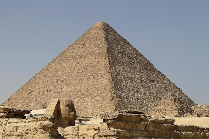 Pyramid of Khafre: AFP/Getty Images