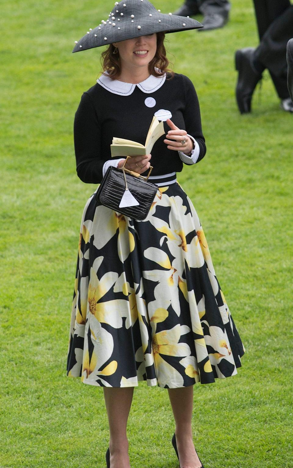 Princess Eugenie attends day 5 of Royal Ascot at Ascot - Mark Cuthbert