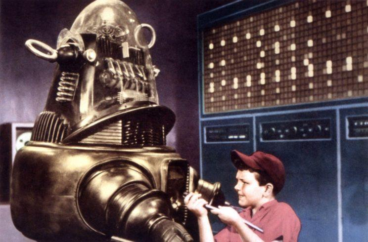 Robby the Robot. (The one on the left. The one that's not the boy.) (Photo: Everett Collection)
