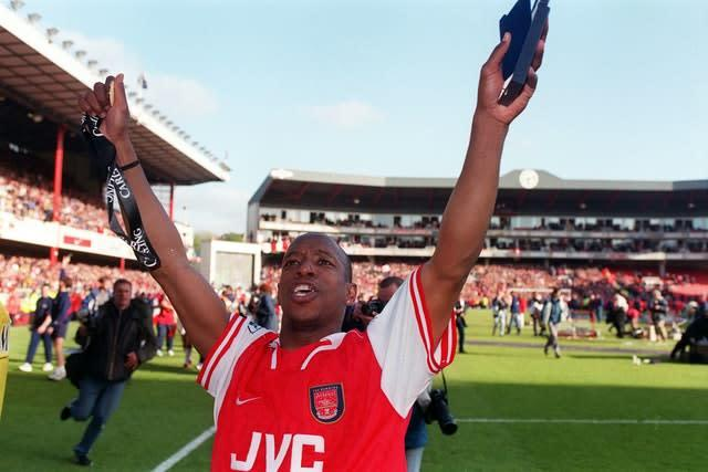 Ian Wright won the Premier League with Arsenal in 1998. (Adam Butler/PA)