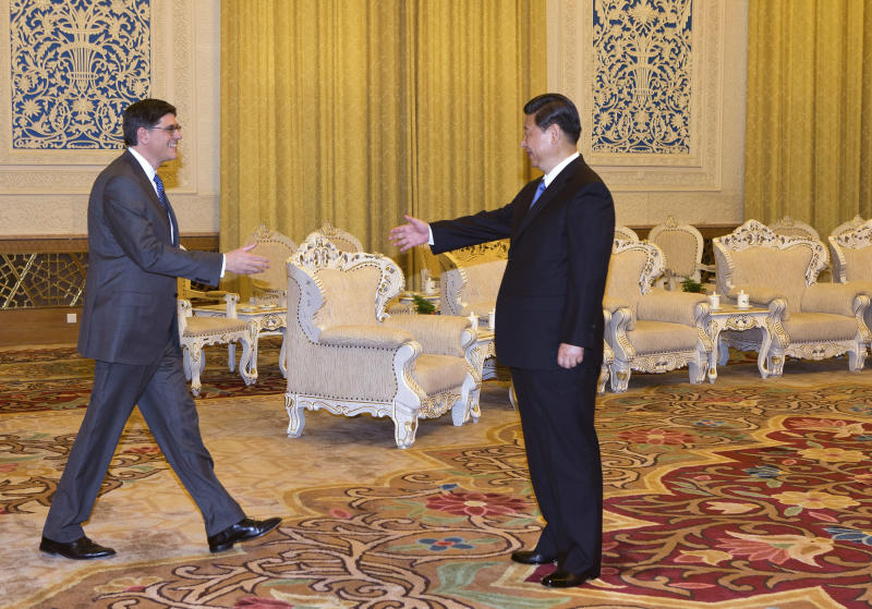 Lew visit marks US-China re-engagement