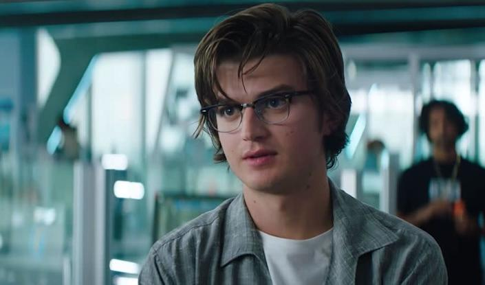 """A still of Joe Keery in the trailer for """"Free Guy."""" (Photo: Free Guy)"""