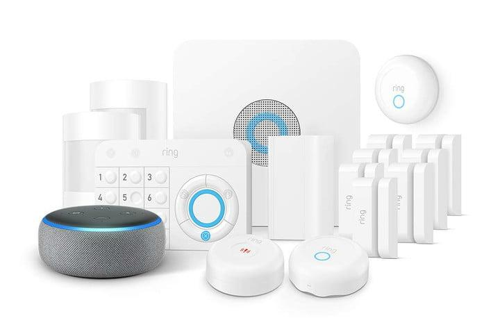 amazon slashes prices on echo ring fire tv and blink devices alarm 15 piece enhanced kit with dot