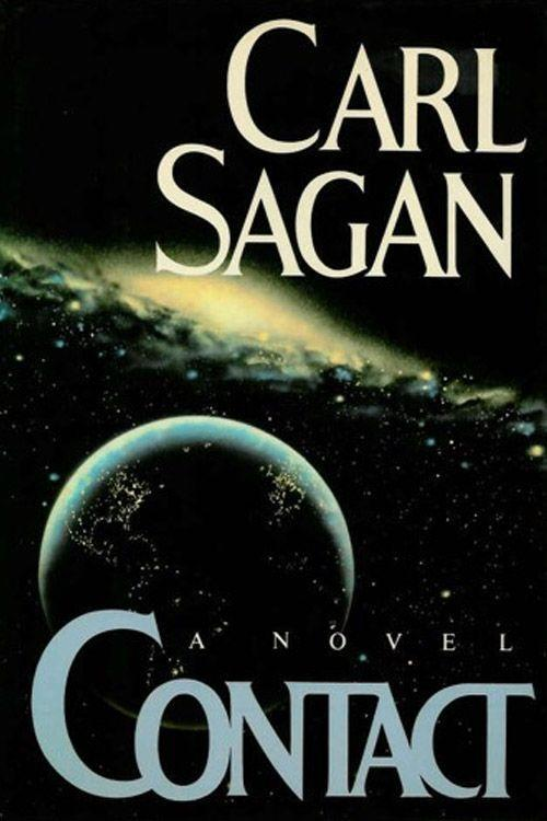 """<p><strong><em>Contact </em>by Carl Sagan</strong></p><p>$6.27 <a class=""""link rapid-noclick-resp"""" href=""""https://www.amazon.com/Contact-Carl-Sagan/dp/0671004107/?tag=syn-yahoo-20&ascsubtag=%5Bartid%7C10050.g.35990784%5Bsrc%7Cyahoo-us"""" rel=""""nofollow noopener"""" target=""""_blank"""" data-ylk=""""slk:BUY NOW"""">BUY NOW</a></p><p>The science fiction novel <em>Contact</em> was originally a screenplay that was stalled and then released as a novel in 1985. The book, written by scientist Carl Sagan, is an adventure about finding a civilization in space after a radio signal comes from somewhere beyond the stars. A film was eventually released in 1997, starring Jodie Foster. </p>"""