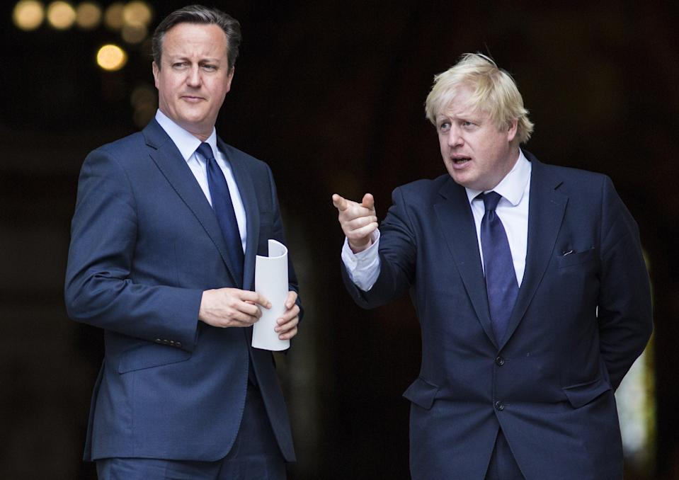 David Cameron will be grilled about access to Boris Johnson's ministersAFP via Getty Images