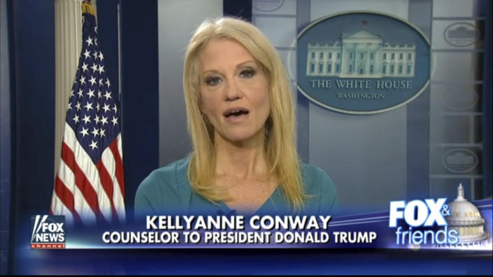 White House adviser Kellyanne Conway. (Photo: Fox News via AP)