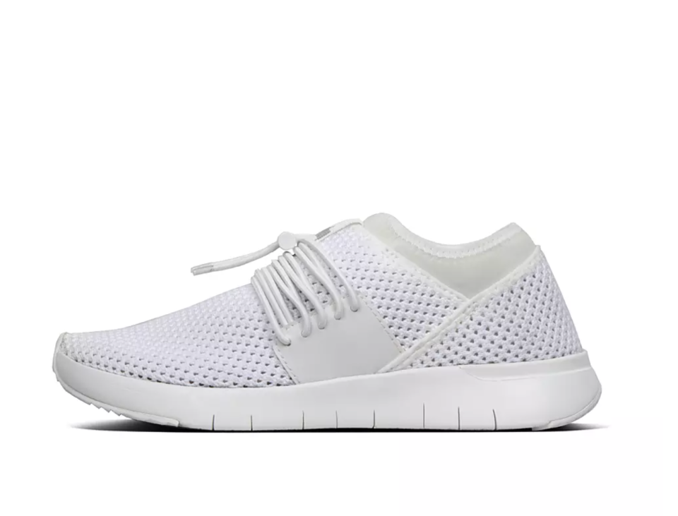 Airmesh Elastic Slip-On Sneakers. Image via Fitflop.