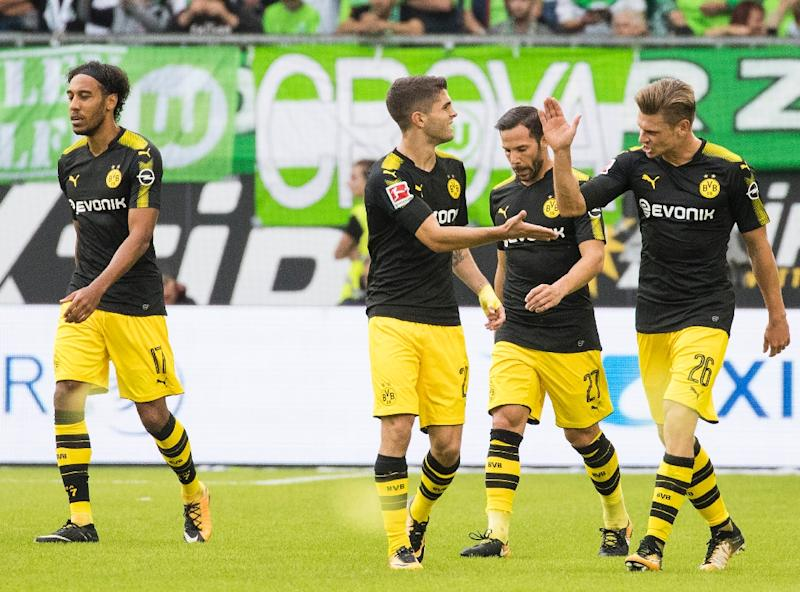 Christian Pulisic helps Dortmund to big Bundesliga win at Wolfsburg