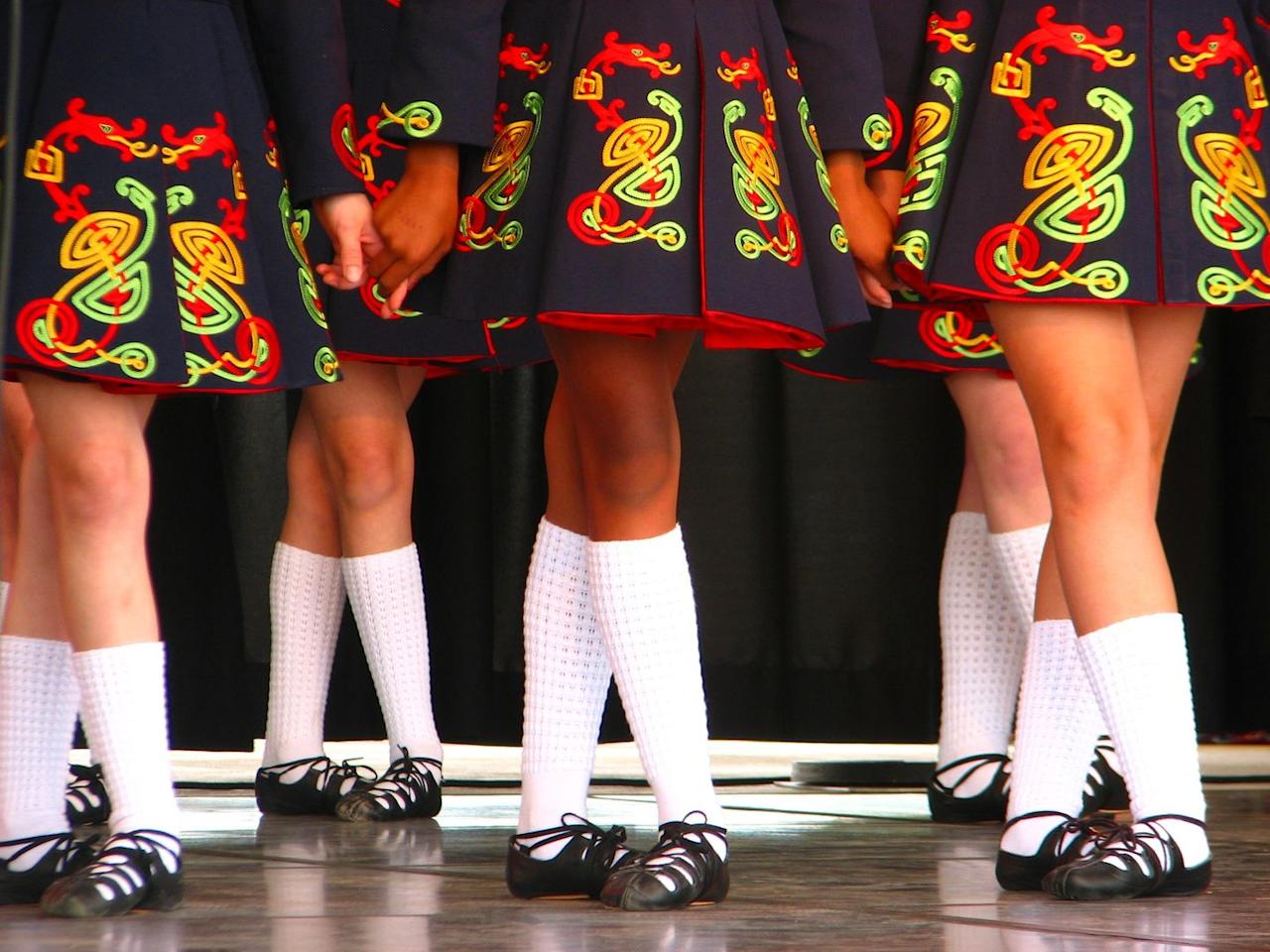 <p>A treat on St. Patrick's Day is to catch Irish stepdancers as they glide, leap, and jump across the floor. Many parades or festivals are sure to have performances.</p>