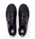 """<p><strong>SoulCycle x Pearl Izumi</strong></p><p>soul-cycle.com</p><p><strong>$215.00</strong></p><p><a href=""""https://shop.soul-cycle.com/us/en/accessories/footwear/cycling-shoes/legend-2.0-cycling-shoes-SA4I180046.html"""" rel=""""nofollow noopener"""" target=""""_blank"""" data-ylk=""""slk:Shop Now"""" class=""""link rapid-noclick-resp"""">Shop Now</a></p><p>SoulCycle makes three different cycling shoes designed specifically for their bikes. The first is their original <a href=""""https://shop.soul-cycle.com/us/en/accessories/footwear/cycling-shoes/soul-cycling-shoe-SA4I180134.html"""" rel=""""nofollow noopener"""" target=""""_blank"""" data-ylk=""""slk:SOUL cycling shoe"""" class=""""link rapid-noclick-resp"""">SOUL cycling shoe</a> which comes in grey, and is a pretty standard cycling shoe when it comes to functionality (these are the ones that you've likely used in-studio for rentals). They offer two upgraded options with their collaboration with Pearl Izumi. The <a href=""""https://shop.soul-cycle.com/us/en/accessories/footwear/cycling-shoes/black-legend-cycling-shoe-SB31170001.html"""" rel=""""nofollow noopener"""" target=""""_blank"""" data-ylk=""""slk:Black Legend Cycling Shoe"""" class=""""link rapid-noclick-resp"""">Black Legend Cycling Shoe</a> has a sleek design and one thick strap closure, and <strong>the top-line <a href=""""https://shop.soul-cycle.com/us/en/accessories/footwear/cycling-shoes/legend-2.0-cycling-shoes-SA4I180046.html"""" rel=""""nofollow noopener"""" target=""""_blank"""" data-ylk=""""slk:Legend 2.0"""" class=""""link rapid-noclick-resp"""">Legend 2.0</a> features BOA laces</strong>, which are essentially wires connected to a turning knob for ease of use in getting the shoes on and off.</p><p><em>Compatible with three-bolt cleat system.</em></p>"""