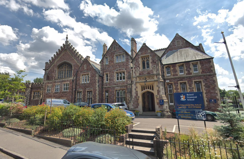 Anastasia Uglow was a student at Bristol Grammar School. (Google)